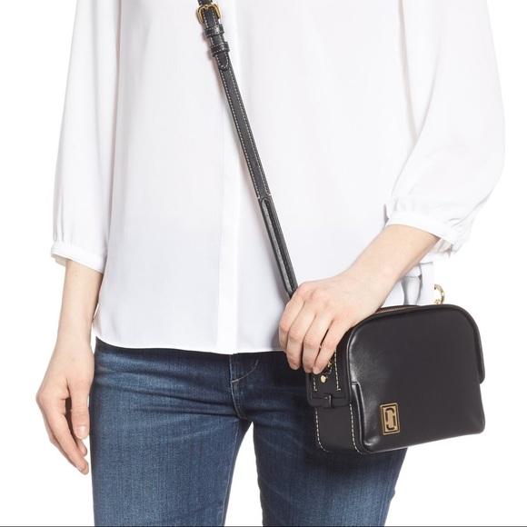 Marc Jacobs mini squeeze bag black